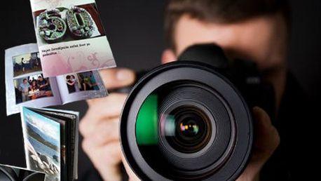 Fotosešit nebo fotokniha! Naplňte až 80 stran fotkami z dovolené!