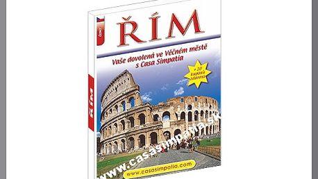 Knižní publikace PRŮVODCE ŘÍMEM smapou města a bonusem! Kniha Vás nejen seznámí s památkami a tipy co vše je možné v Římě vidět, ale navíc získáte i slevové poukazy, které při Vaší příští návštěvě Říma jistě využijete!