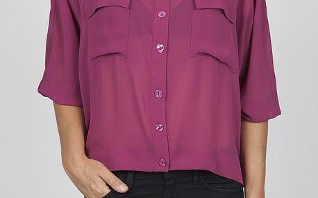 Dámská fuchsiová košile Dex