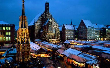 Advent v německém Norimberku! Cena včetně dopravy, prohlídky města s průvodcem a vánoční trhy!