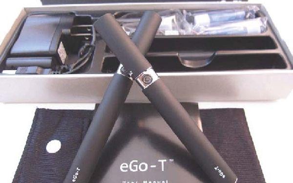 Dvě e-cigarety eGo-T 1100mAh s náplní za neuveritelných 329 Kc