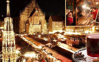 Vyjeďte za Vánocemi do Německa! Kouzelná atmosféra Norimberka!