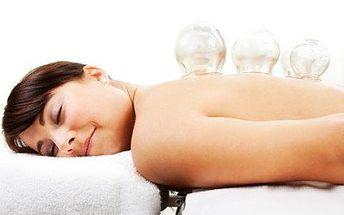 Baňkování se zdravotní masáží! 60minutová rehabilitace, relaxace a prevence!