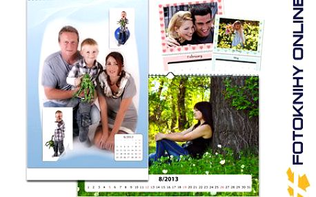 Kalendář A3 z vašich vlastních fotek! Fotky zážitků a vašich blízkých na každé ze 13 stran. Poštovné ZDARMA!