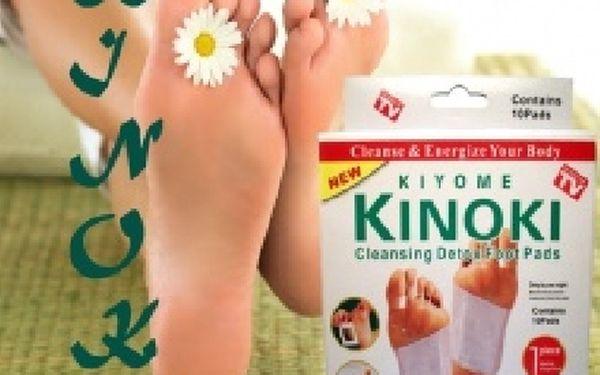 Detoxikační náplasti KINOKI pro očistu Vaše těla za jedinečných 49,-Kč