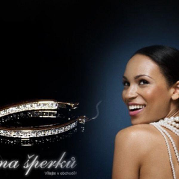 Luxusní kruhové naušnice SWAROVSKI Elements z chirurgické oceli za okouzlující cenu 299 Kč! Báječný tip na dárek, který zaručeně potěší každou ženu!