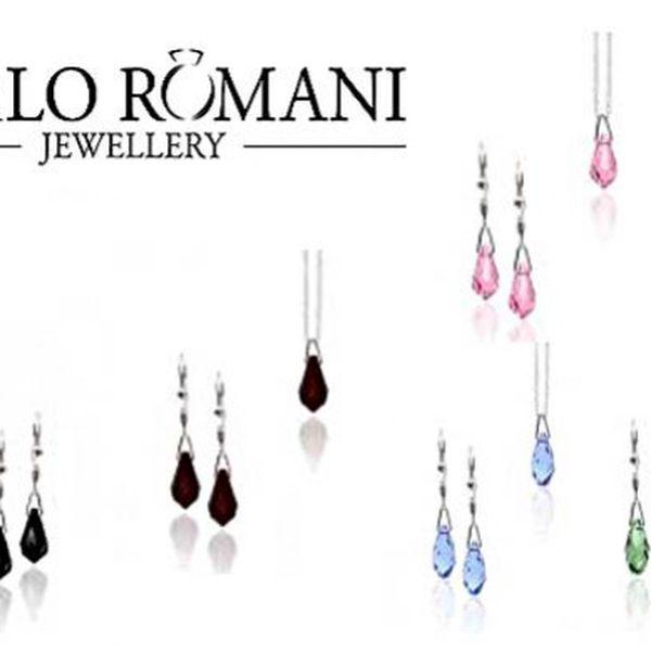 Stříbrné šperky s krystaly Swarovski