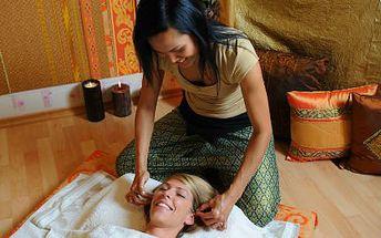 Indická antistresová masáž. Uvolněte se během hodinové masáže, zbavte se stresu i bolestí hlavy!