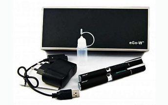 2x elektronická cigareta eGo-W nejlevněji v ČR, jen za 599 Kč! Nová, vylepšená verze této elektronické cigarety se super slevou 68%!