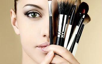 Permanentní make-up! Buďte krásná za každé situace! Obočí, horní či dolní linky či rty!