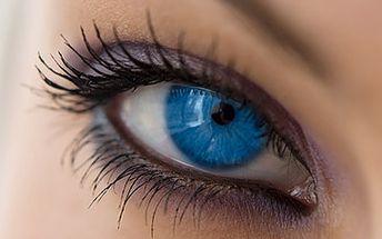 99 Kč za formování a barvení řas a obočí + maska očního okolí zdarma!