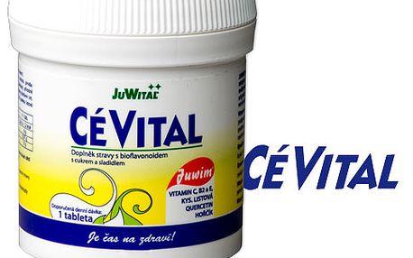 Cévital s vysokým obsahem vitamínu C