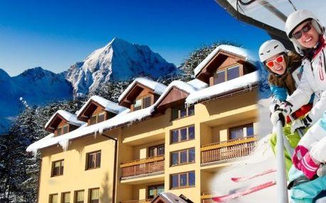 44 € za 3-dňový pobyt pre 2 osoby s raňajkami, vstupom do lanového parku a hlavne s možnosťou lyžovať v krásnej prírode pod Tatranskými štítmi Roháče – Západné Tatry.