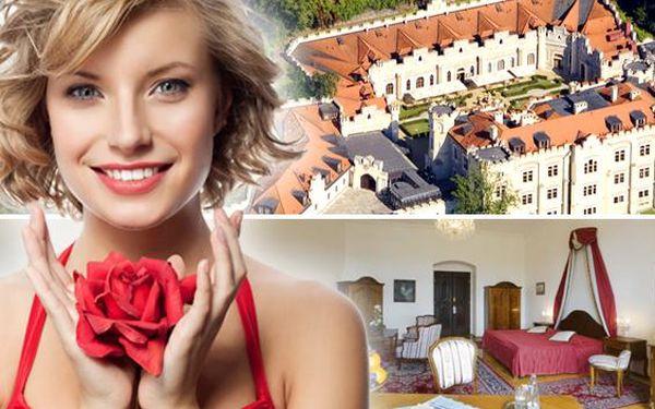Hluboká a 4* zámecký hotel Štekl s neomezeným…