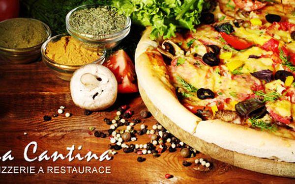 55 Kč za skvělou pizzu v La Cantina Liberec. Vyberte si jeden z 20 druhů: čeká Vás tenké křupavoučké těsto, původní italské recepty a ty nejlepší ingredience. Sleva 71 %.