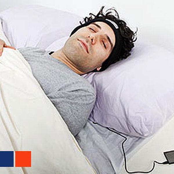 Fleecová čelenka se zabudovanými sluchátky – 3,5mm jack připojíte k MP3, telefonu, PC