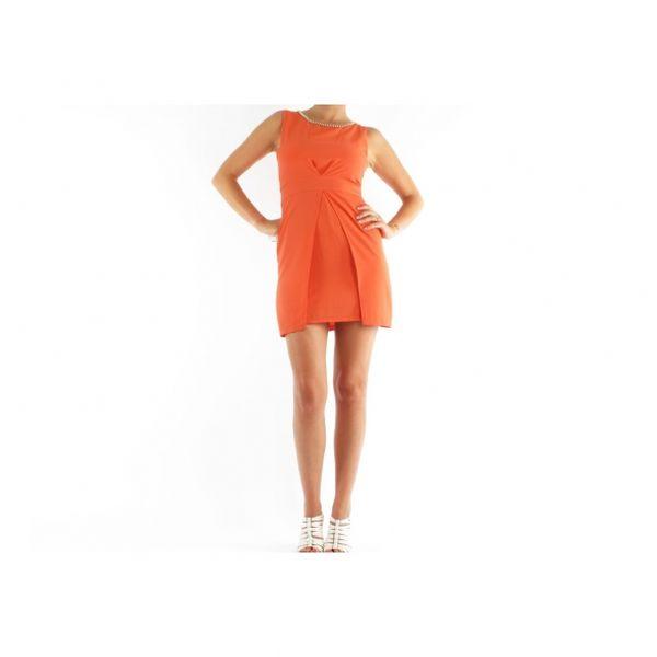 Dámské šaty Toi et Moi, oranžové