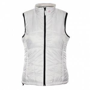Dámská bílá prošívaná vesta Alpine Pro