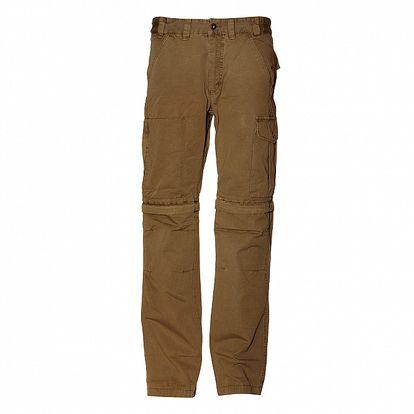 Pánské světle hnědé bavlněné kalhoty Alpine Pro