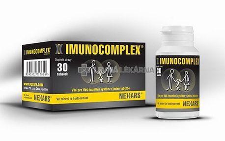 IMUNOCOMPLEX® - vše pro Váš imunitní systém v jedné tobolce se slevou 64 %! Cestujte bez střevních potíží - obsahuje lactobacily a probiotika - při průjmu, při střevních potížích, při zvýšené plynatosti střev... Český originální výrobek s certifikátem Nejlepší výrobek roku 2009! Získáte 3 výrobky v jednom!