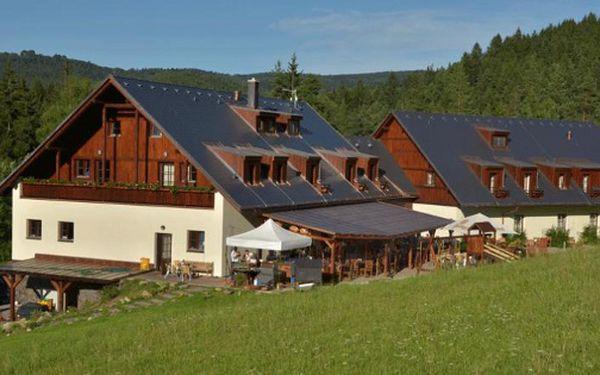 Šumavský relax se specialitami mezinárodní kuchyně ve **** hotelu annín