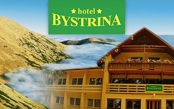 Nízké Tatry: ubytování na 3 dny (2 noci) pro 2 osoby včetně snídaní