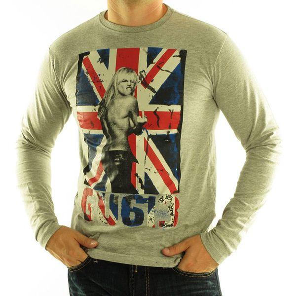 GANGSTER UNIT pánské tričko jimoss_b_grey