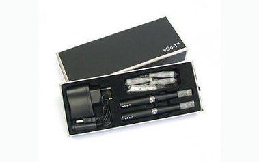 Neuvěřitelná cena za elektronickou cigaretu ego-T, která nemá dosud konkurenci!! 375 Kč za 2 elektronické cigarety eGo-T 1100 s pěti náplněmi!! Kuřte zdravěji, bez dehtu, ale hlavně se slevou až 75%.