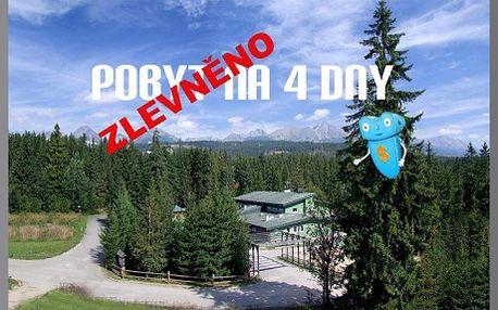 ZKUŠEBNÍ VÁNOCE A SILVESTR V TATRÁCH! Vysoké Tatry, wellness pobyt na 4 DNY v horském hotelu Nezábudka - Tatranská Štrba! Během tohoto pobytu na Vás čeká nabytý wellness balíček plus kompletní Silvestrovský a vánoční večer na zkoušku, zahrnující vše co k tomu patří! Sleva na pobyt 61%!