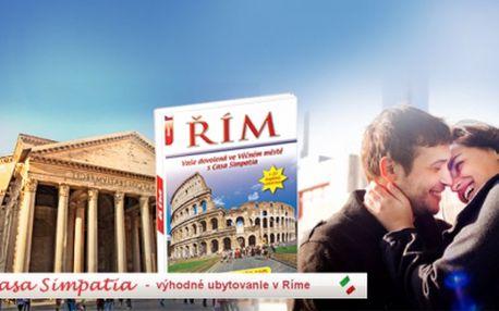 Pouhých 99 Kč za ilustrovanou knihu - průvodce Římem + 20 slev na pobyt! Pro prvních 15 kupujících DVD jako dárek! Navíc při osobním odběru v Praze získáte 1 kg pravých italských těstovin! Navštivte jedno z nejkrásnějších měst Evropy!