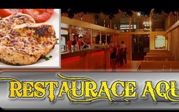 Nejlepší cenová nabídka na trhu: 2x šťavnatý kuřecí nebo vepřový steak s fantastickou gramáží 300 g a s přílohou (dle výběru) jen za 219 Kč!