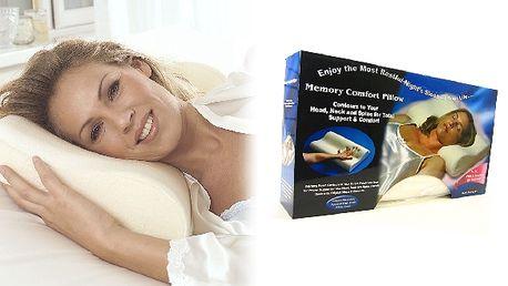 Sleva na Ortopedický polštář Memory Pillow, nyní p...