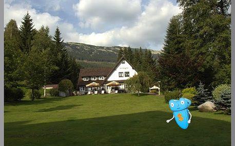 Romantický pobyt, Krkonoše pro 2 osoby na 3 dny s polopenzí v Hotelu Kristýna, Špindlerův Mlýn! Krkonoše přímo vybízejí k procházkám a posezení pro romantické duše, k turistice, i cykloturistice. Sleva 44%!