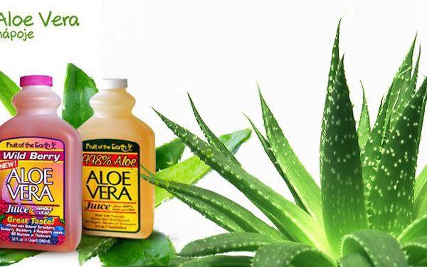 2 litry 99,8% Aloe Vera šťávy s 50% slevou