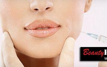 Kyslíková terapie: do pokožky je dodán kyslík, léčebná séra a vitamíny