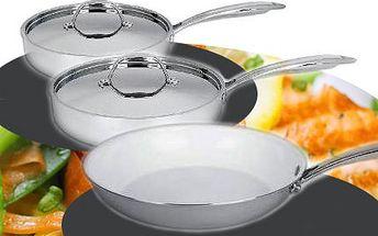 Keramické nerezové pánve! Připravujte pokrmy s radostí na profesionálních pánvích!