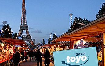 Vianočný Paríž a jeho nádherná adventná atmosféra len za 129 €