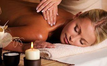Masáž celého těla 60 minut! Zažijte to pravé uvolnění při medové, čokoládové a dalších masáží!