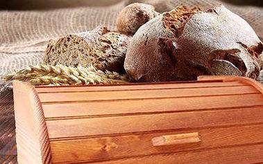 Stylový dřevený chlebník! S láskou se postará o chléb, pečivo a každičký drobek!