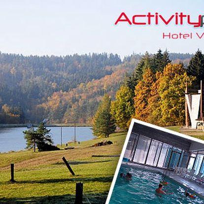 3* Activitypark na Valašsku s wellness – 3, 4 nebo 6 dní, animační programy, vyhřívaný bazén, vířivka, polopenze