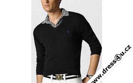 Ralph Lauren pánský svetr černý