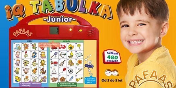 Potěšte své nejmenší dětskou IQ naučnou mluvící tabulkou za pouhých 239 Kč s HyperSlevou 45 % a zabavte je touto krásnou hračkou!