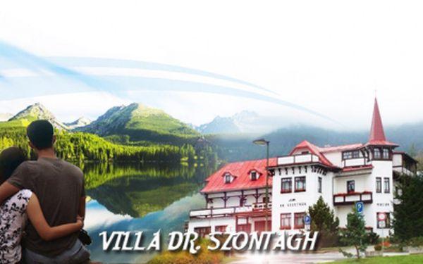 7 DNÍ ve VYSOKÝCH TATRÁCH v krásném hotelu Villa Dr. Szontagh*** jen za 3490 Kč s POLOPENZÍ! Sleva 40% a navíc úžasné BONUSY k pobytu ve formě dalších slev!