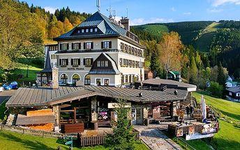 Barevný podzim v Hotelu Praha ve Špindlerově Mlýně
