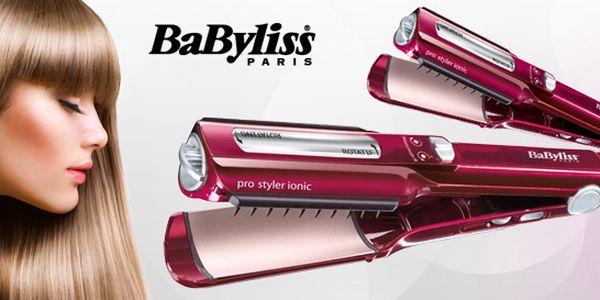 Rotační žehlička a kulma na vlasy BaByliss