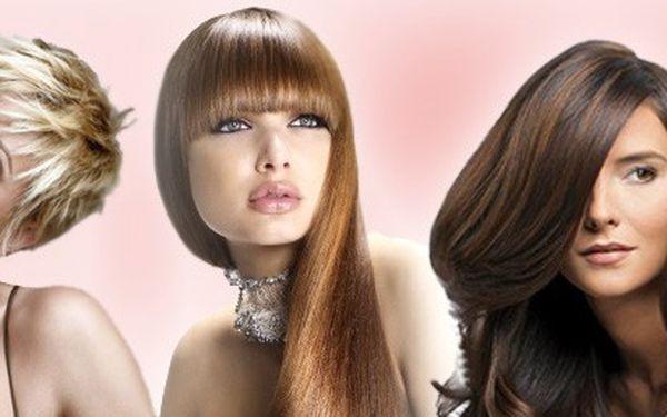 520 kč za MELÍR nebo BARVU včetně střihu, regenerační kůry, mytí, foukané a závěrečného stylingu. Proměňte se v okouzlující dámu ve vlasovém studiu Sanett !