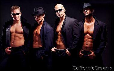 Exklusivní ladies party! Jedinečná párty se striptéry z California Dreams, přehlídkou i Zumbou!