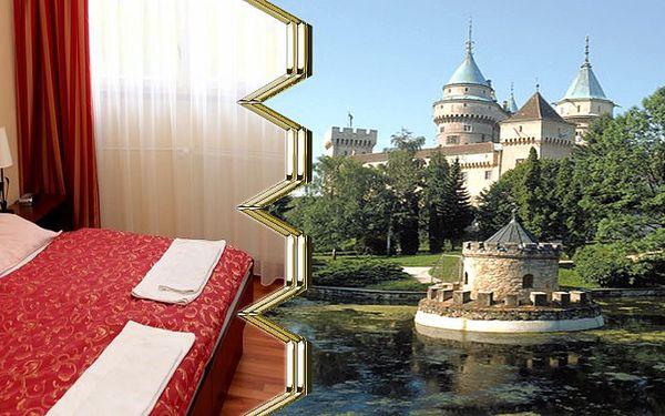 3 dny pro 2 osoby s polopenzí v hotelu Regia poblíž Bojnického zámku.