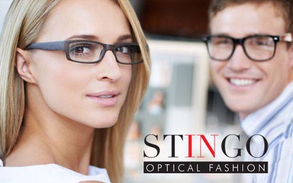 490 Kč za poukaz na nákup jakéhokoliv sortimentu v hodnotě 1 000 Kč ve STINGO Optical Fashion. Nové trendy brýle, kontaktní čočky nebo sluneční brýle s HyperSlevou 51 %.