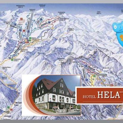 Sleva 50 % na pobyt v Hotelu Hela, Velká Úpa, pro 2 osoby na 3 dny s polopenzí. Domácí strava, osobní přístup, skvělé parkování, vlek u hotelu, výborné podmínky pro lyžování - co víc si přát... Krkonoše - ráj zimních radovánek.